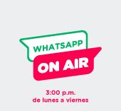 Whatsapp on air